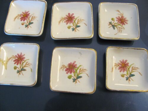 6 Wedgewood Royalstone China butter pat plate