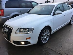 2010 Audi A6 S-line Quattro-Navi-Backup-Bluetooth-NO Accidents