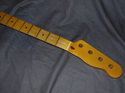 RELIC Fender Lic. Allparts Maple Neck will fit precision p bass T or jazz body