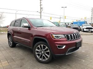 2018 Jeep Grand Cherokee LIMITED**LEATHER HEATED/VENTILATED SEAT