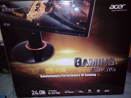 Acer XB240H 144hz 1ms g-sync gaming monitor