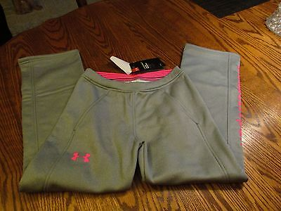 Under Armour ColdGear Storm 1 Loose Fit Athletic Pants Girls Size YS NWT $44.99 Und 1 Athletic Hosen