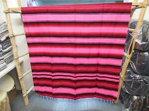 SERAPE XXL5X7 Mexican Blanket HOT ROD Seat Covers