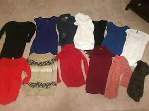Maternity clothes size small/medium