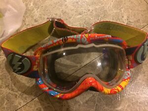 Lunette snowboard electric goggles