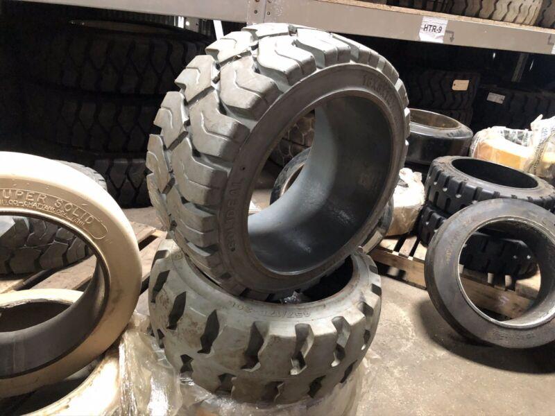 18x8x12 1/8 Magnum Non Marking Press On Tire Forklift Tires NashLift