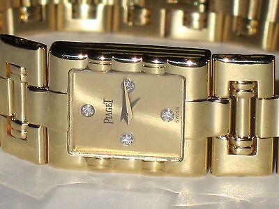 Womens Piaget Dancer 18K Solid Gold Diamond