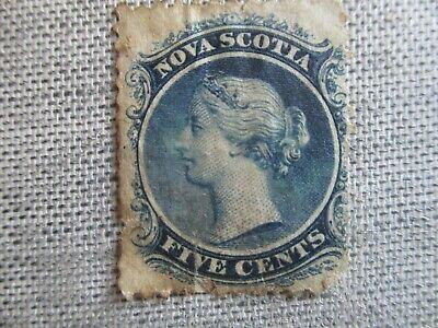 Nova Scotia, Scott#10, used