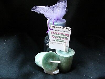 All Scents- Feather Palm Wax Votive candles by Atlantean Alchemy ™