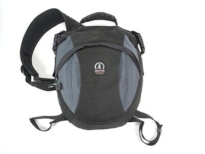 Tamrac Velocity 8X 5768 Photo Sling Pack Backpack Large Camera Bag Black Gray Tamrac Velocity Sling