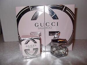 Women's Gucci Bamboo Gift Set 5ml Eau De Parfum Miniature in Presentation Box