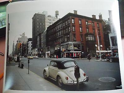 1967 Madison Avenue Volkswagon Beetle NYC New York City Modern Reprint Photo