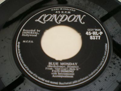 FATS DOMINO - BLUE MONDAY / WHAT'S THE REASON I'M NOT PLEASING YOU