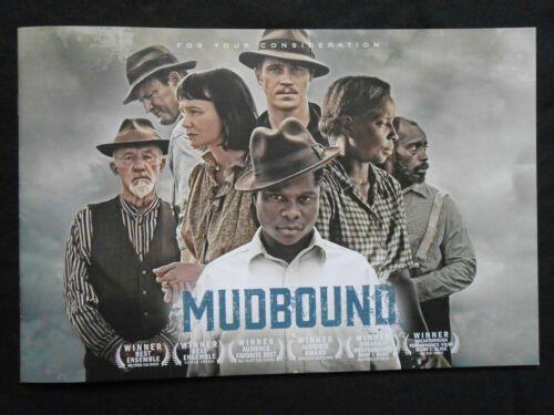 MUDBOUND FYC  PROMO PRESS BOOK BOOKLET