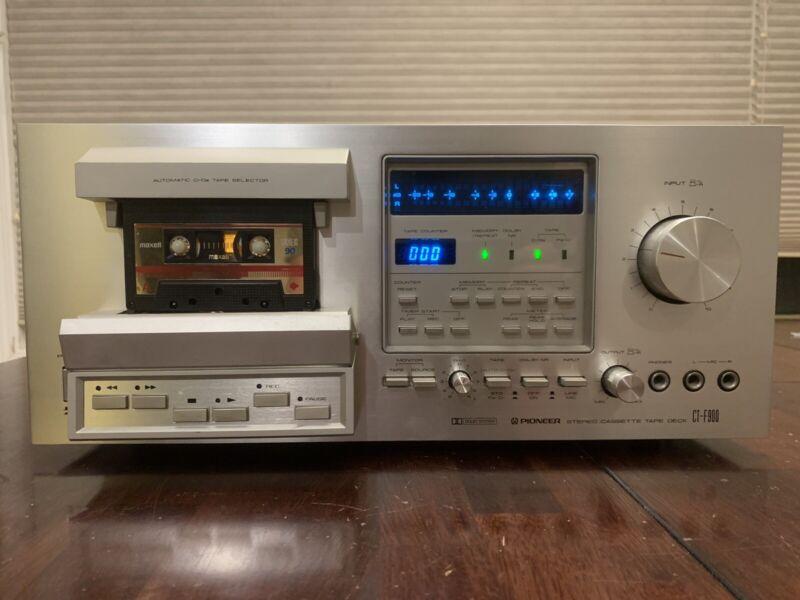 Pioneer CT-F900 Stereo 3-Head Cassette Deck - Please Read
