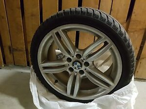 """19"""" BMW winter tires and M rims"""