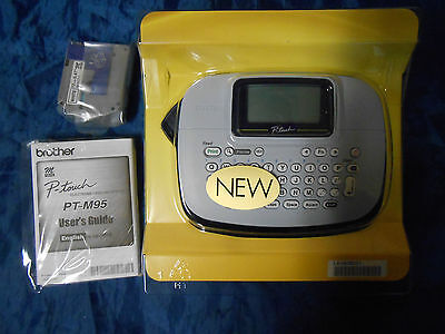 Brother P-touch Pt-m95 Personal Label Maker With 1 Tape