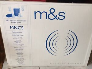 M&S Mini Cube Home Theater Speaker system