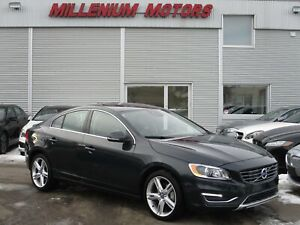 2016 Volvo S60 T5 AWD PREMIER / NAVI / BSM / LEATHER / SUNROOF