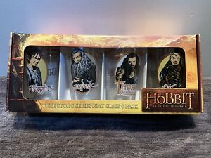 *NEW* The Hobbit An Unexpected Journey Collectors Pint Glasses