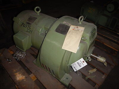 25 HP Dynamatic Variable Speed Electric Motor, 910, 100-1765 RPM, 110 V Clutch