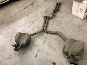 OEM Audi RS7 Sports Exhaust