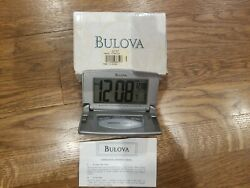 Bulova B6943 Travel Clock