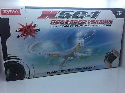 NEW SYMA X5C-1 QUADCOPTER UPGRADED VERSION HD CAMERA & REMOTE DRONE