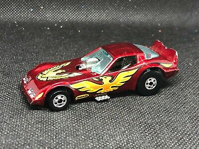 Hot Wheels Firebird Funny Car Dragster Maroon 1977 Made in Malaysia