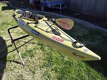 Riot Edge 11 Angler kayak with accessories Monash Tuggeranong Preview