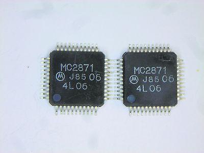 Mc2871 Original Motorola 44p Smd Ic 2 Pcs
