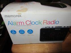 Memorex Soothing Nature Sounds AM / FM Alarm Clock Radio MC6306BKA