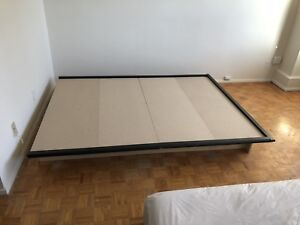 Queen Size Bed Frame (with an extra mattress board)