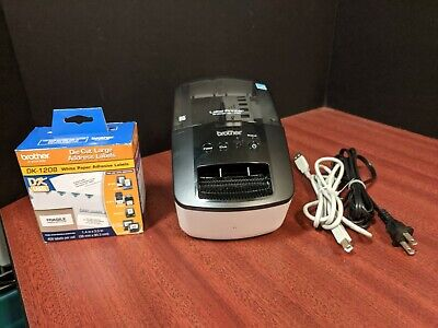 Brother Label Printer Ql-700 With Dk-2214 And 1208 Cartridges Bundle
