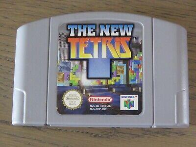 JEU NINTENDO 64 N64 THE NEW TETRIS