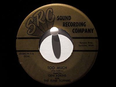 (The Tune Toppers  Pair of SRC Releases  Rare Northwest Bluegrass/Folk)