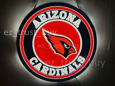 Arizona Led Sign - New Arizona Cardinals LED 3D Neon Sign 20