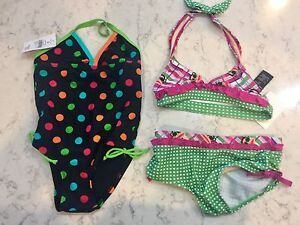 Size 3 swimsuits nwt