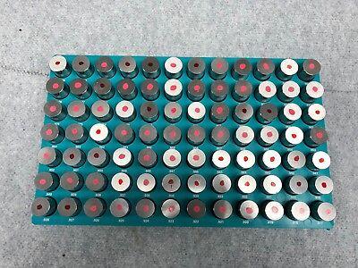 84 Pc M7 .917-1.000 Steel Plug Pin Gage Set Minus Pin Gauges Metal Gage Gauges