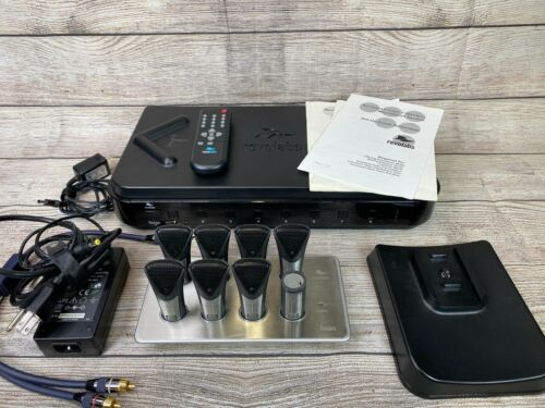 Revolabs Fusion 8-Channel Wireless Audio Conferencing System With 8 Microphones