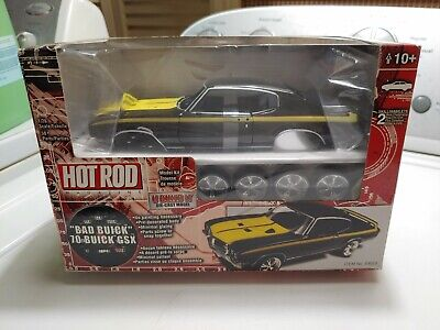 RARE Hot Rod Magazine 1970 Buick GSX Bad Buick Die Cast Model Kit 1:26 Scale NIB