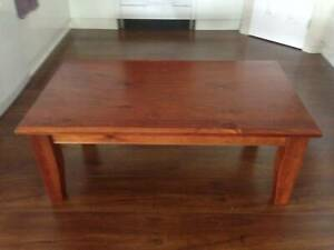 Coffee Table Pine Timber Walnut Oak Colour Stain $55