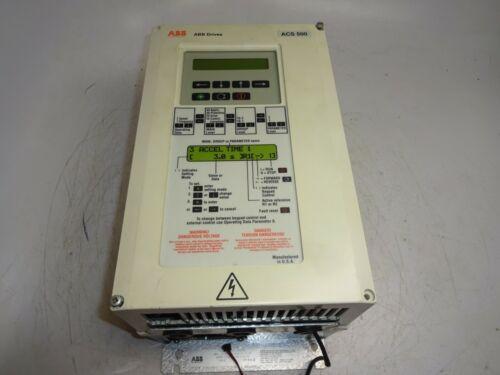 ABB ACS500 DEMO AC DRIVE 115VAC 5.1AMP