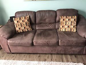 For sale  microfibre sofa and love seat