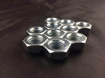 10 X THIN OPEN END BULGE ACORN WHEEL LUG NUTS 12X1.5 ZINC FINISH