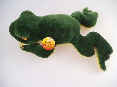 Steiff Frosch Froggy 2360/22 komplett mit KFS 1968 - 1978 (1537)