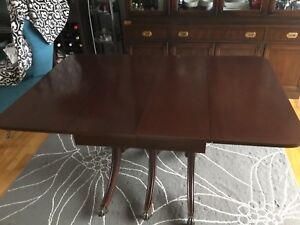Dining Table Duncan Phyfe reproduction made of Mahogany wood