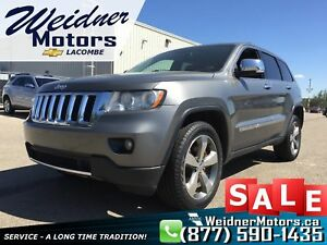2012 Jeep Grand Cherokee *Leather Interior, Sunroof, NAV*
