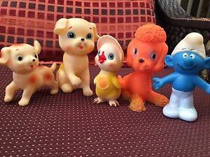 Vintage rubber baby toys $20 Northmead Parramatta Area Preview