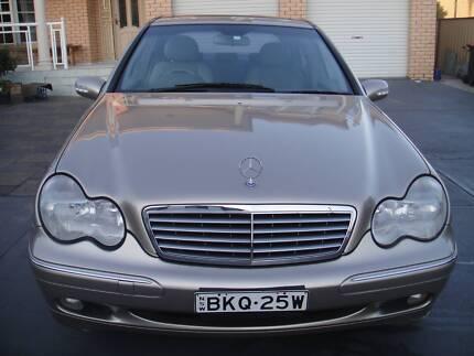 2002 Mercedes-Benz C200 Kompressor, 8 months Rego & free tyres Condell Park Bankstown Area Preview